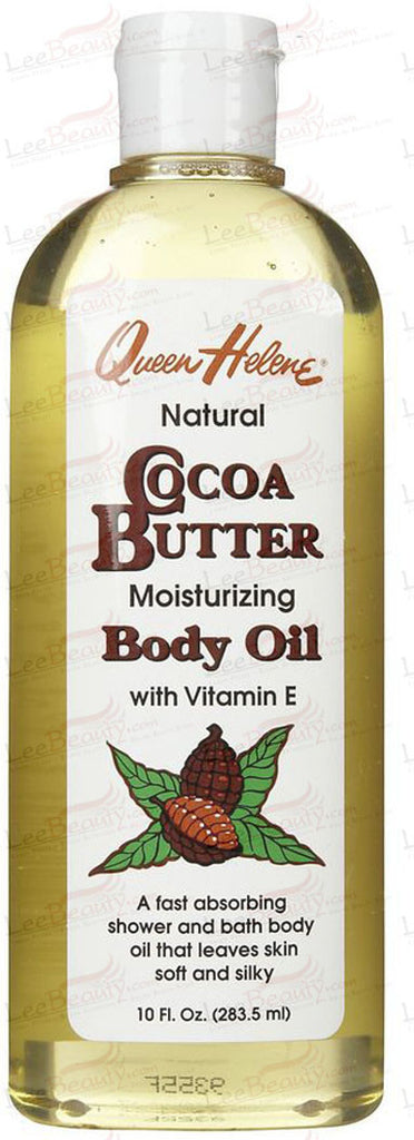 Queen Helene Cocoa Butter Moisturizing Body Oil with Vitamin E