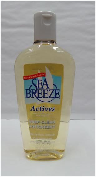 Sea Breeze Actives Deep Clean Astringent