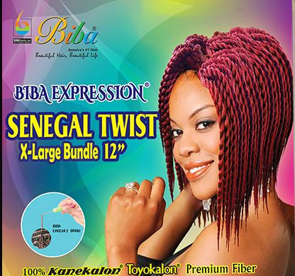 Biba Expression Senegal Twist X-Large Bundle 12""