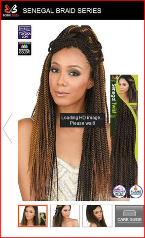 Bobbi Boss Crochet Braid Hand-Made Senegal Twist