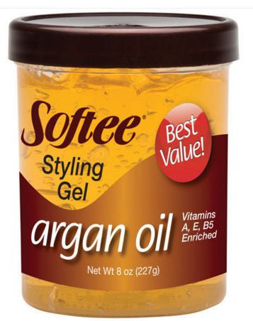 Softee Styling Gel Argan Oil (8 oz.)