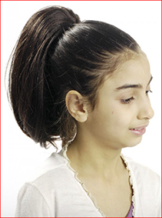 Magic Gold Kid's Train CNT Ponytail