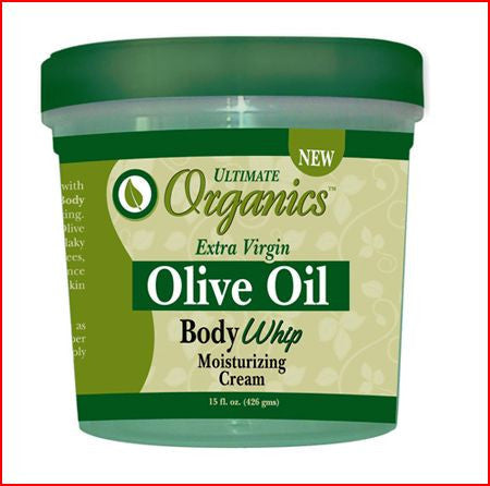 Ultimate Organics Extra Virgin Olive Oil Body Whip