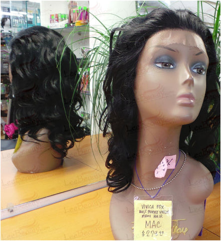 Vivica Fox Lace Front Human Hair Wig Mac-V