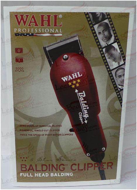 Wahl 5 Star Series Balding Clipper Full Head Balding