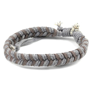 Chevron Bracelet - Gray &