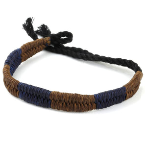 Festival Bracelet - Brown / Navy