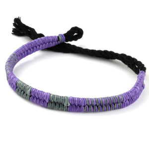 Festival Bracelet - Purple / Gray