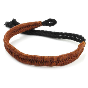 Festival Bracelet - Solid Brown