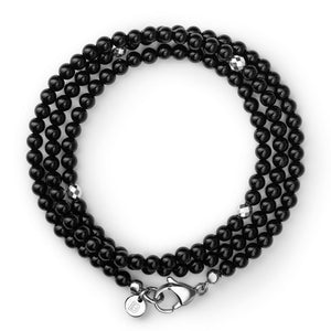 Gemstone Bracelet - Black