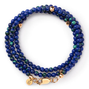 Gemstone Bracelet - Greek - 6 1/2