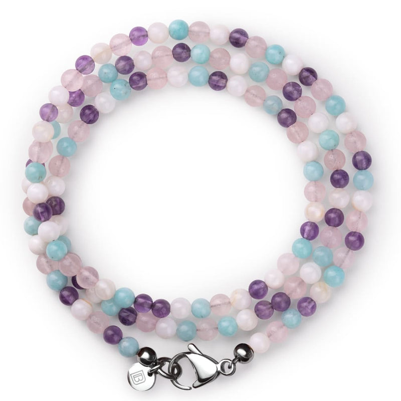 Gemstone Bracelet - Pale - 6 1/2