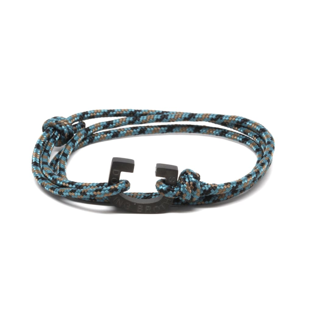 Mint Blue Camo Rope
