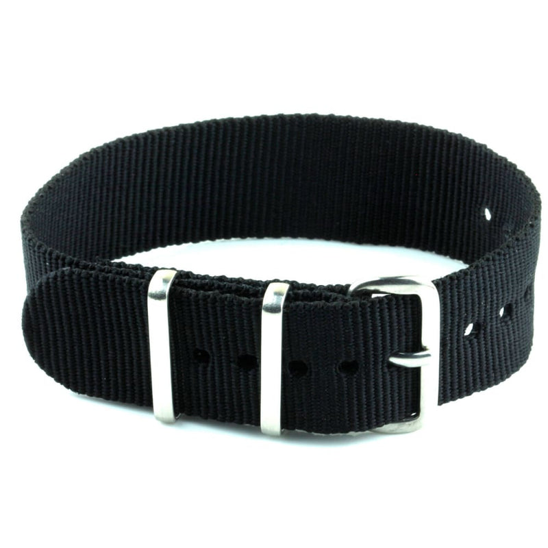 Nylon Watch Strap - Black