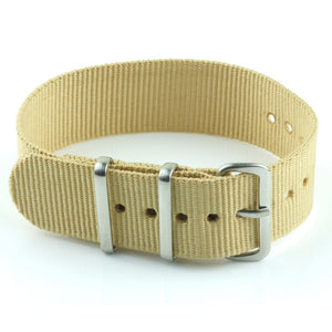 Nylon Watch Strap - Khaki
