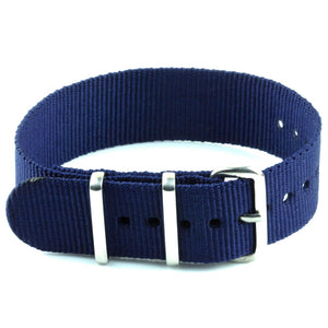 Nylon Watch Strap - Navy