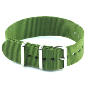 Nylon Watch Strap - Olive