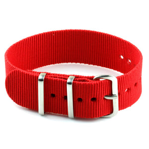 Nylon Watch Strap - Red