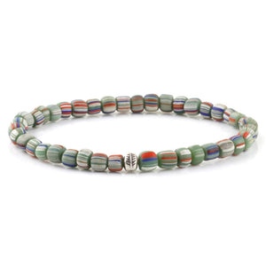 Tribal Bracelet - Sterling Silver - Multi / S/M (Up to 7 1/2 Inches)