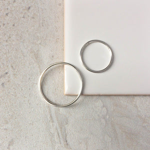 Sterling Silver Stacking Rings