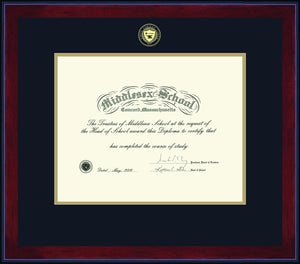 New Middlesex Diploma Frames...