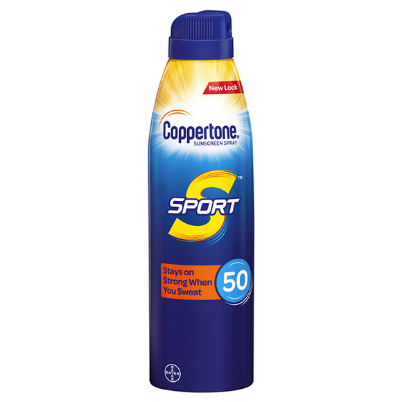 Coppertone Sport Sunscreen Continuous Spray SPF 50, 5.5 Oz
