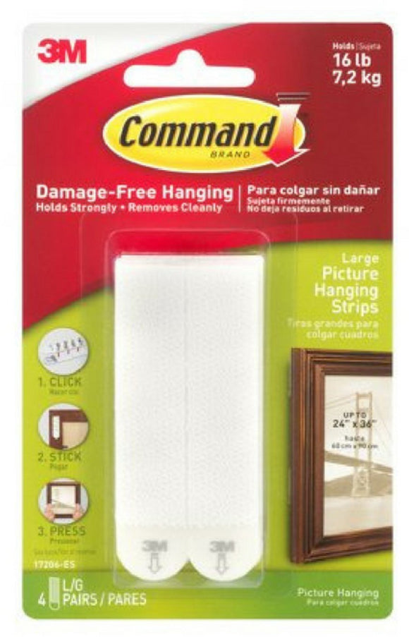 Command 3M Large Picture Hanging Strips