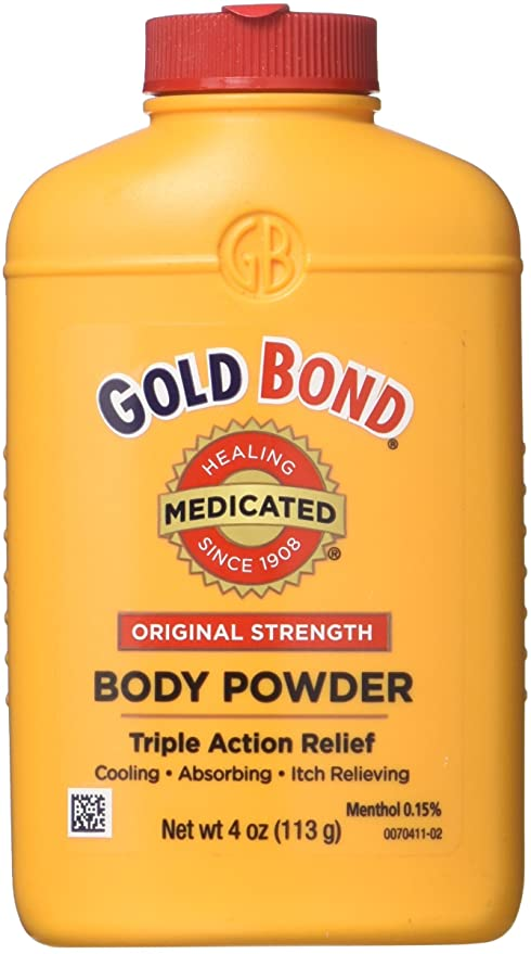 Gold Bond Body Powder 4 Oz Original Strength