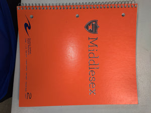 Two Subject Notebook - College Ruled