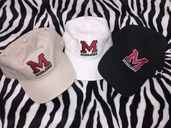M Middlesex Under Armour Baseball Cap