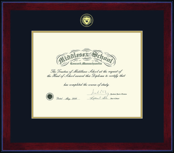 Diploma Frames (Call 978-371-6543) to Place Order