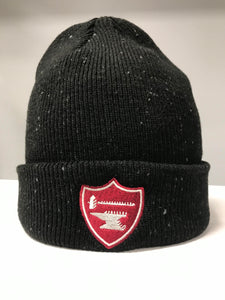 Black & Gray Speckled Middlesex Beanie