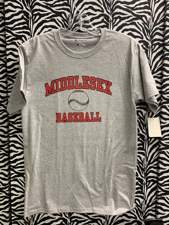 MX BASEBALL TSHIRT GRAY