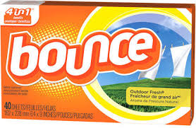 BOUNCE OUTDOOR FRESH DRYER SHEETS