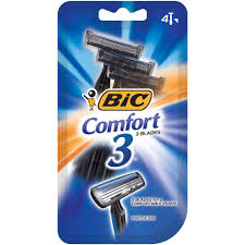 BIC COMFORT DISPOSABLE RAZORS FOR MEN 4 PK.