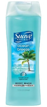 SUAVE BODY WASH OCEAN BREEZE 12OZ