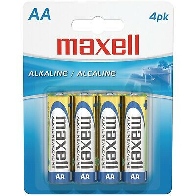MAXELL AA 4-PACK BATTERIES