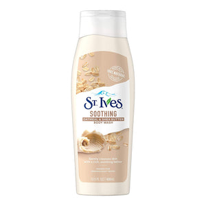 ST. IVES OATMEAL & SHEA BUTTER BODY WASH