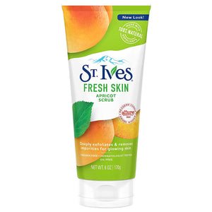 ST. IVES APRICOT SCRUB INVIGORATING - ALL SKIN TYPES - 6oz.