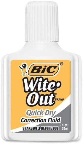 WITE OUT QUICK DRY CORRECTION FLUID