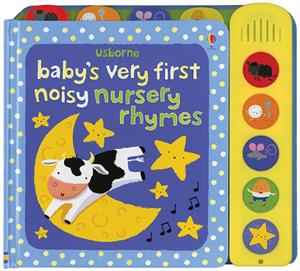 Baby's First Noisy Book Nursery Rhymes Ages 6M+