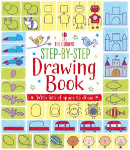 Step by Step Drawing Book 4+