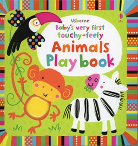 Baby's very Frist Touchy-Feely Animals Play Book 0+