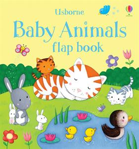 Baby Animals Flap Book Usborne 3+