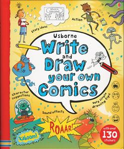Write and draw your own comics 10+