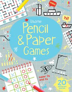 Pencil and Paper Games Usborne Books 6+