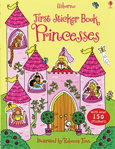 First Sticker Book Princesses Ages 4+