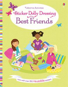 Sticker Dolly Dressing Best Friends Ages 5+