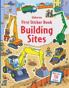 My First Sticker Book Building Sites Ages 4+