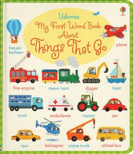 My first word book things that go 9m+